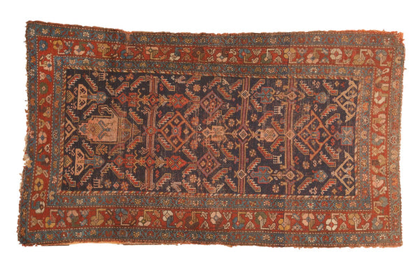 Antique Kurdish Hamadan Rug