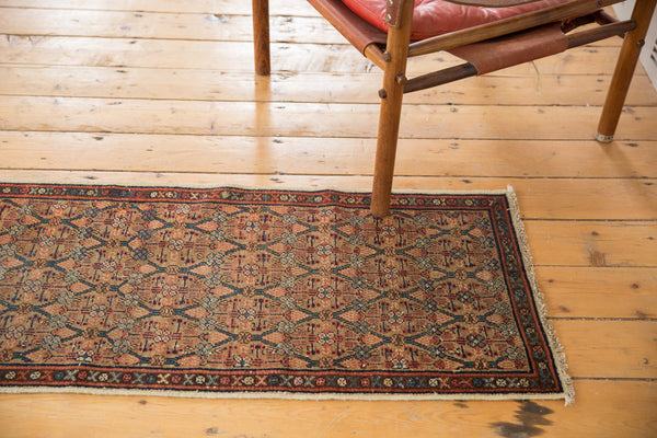Antique Serab Fragment Rug Runner
