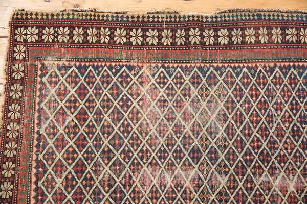 Antique Shirvan Square Rug / Item 5208 image 3