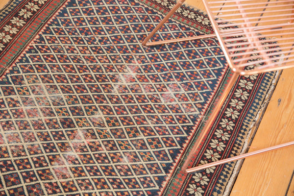 Antique Shirvan Square Rug / Item 5208 image 4