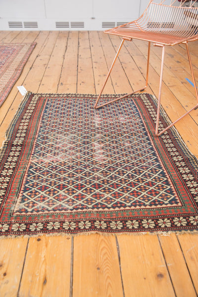 Antique Shirvan Square Rug / Item 5208 image 5