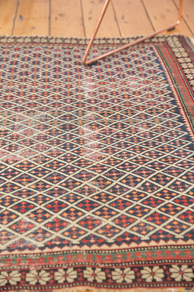 Antique Shirvan Square Rug / Item 5208 image 6