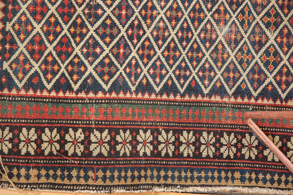 Antique Shirvan Square Rug / Item 5208 image 8