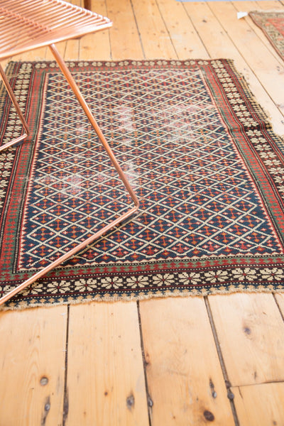 Antique Shirvan Square Rug / Item 5208 image 9