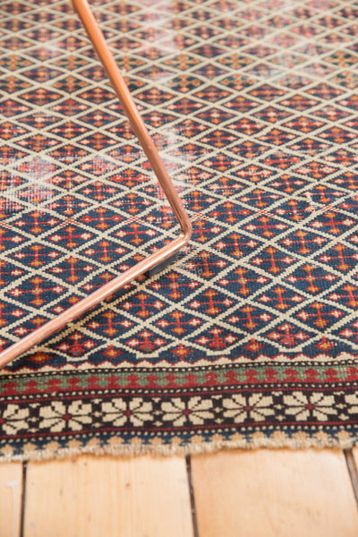 Antique Shirvan Square Rug / Item 5208 image 10