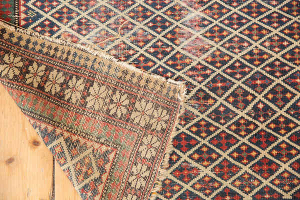 Antique Shirvan Square Rug / Item 5208 image 12
