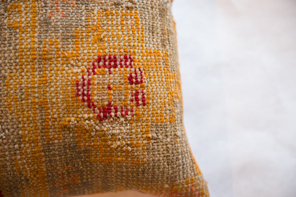Reclaimed Antique Turkish Rug Fragment Pillow