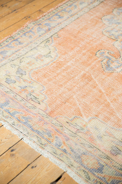 Vintage Distressed Oushak Rug / Item 5494 image 9