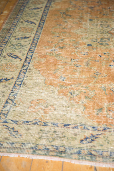 Vintage Distressed Oushak Carpet / Item 5499 image 5