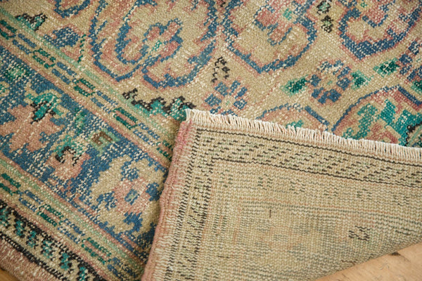 Vintage Distressed Oushak Carpet / Item 5508 image 9