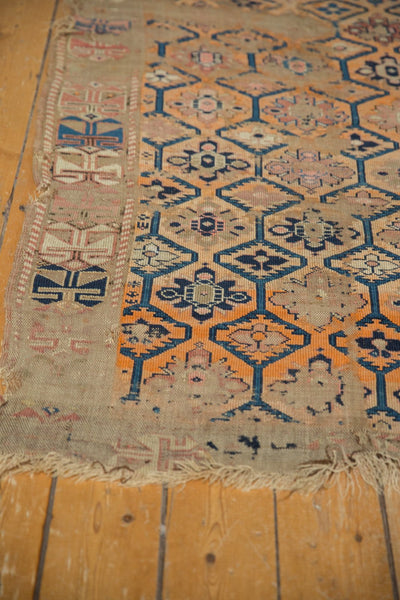 Antique Fragment Caucasian Rug / Item 5543 image 4
