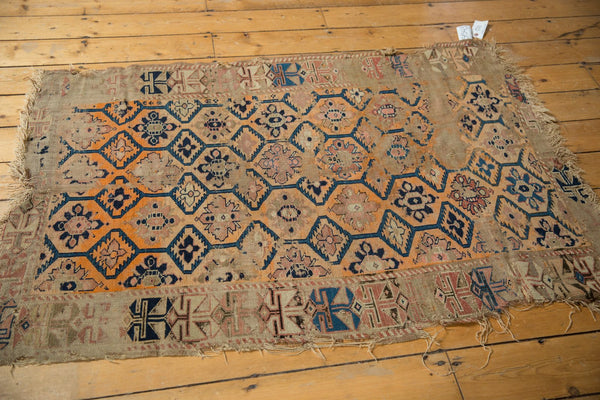 Antique Fragment Caucasian Rug / Item 5543 image 5