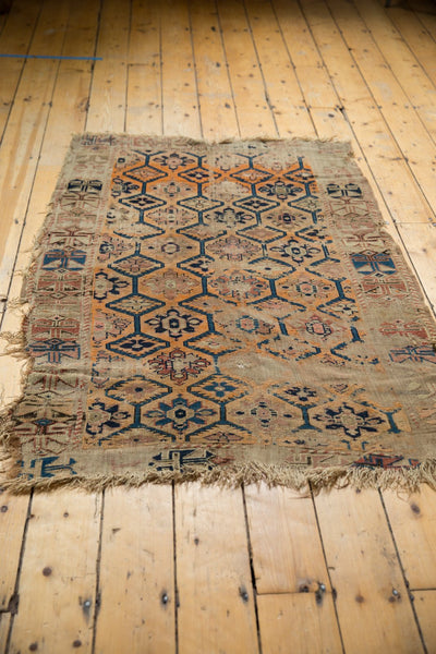 Antique Fragment Caucasian Rug / Item 5543 image 13