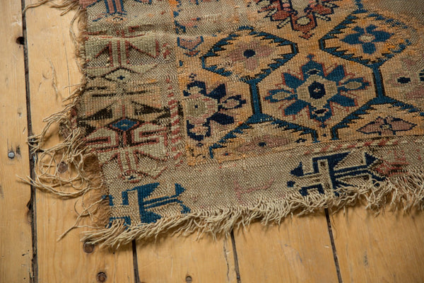 Antique Fragment Caucasian Rug / Item 5543 image 14