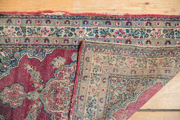 Antique Kerman Rug Mat / Item 5551 image 4