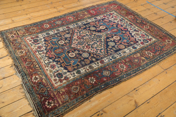 Antique Kurdish Bijar Rug / Item 5567 image 3