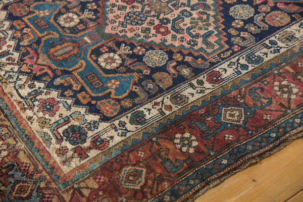 Antique Kurdish Bijar Rug / Item 5567 image 4
