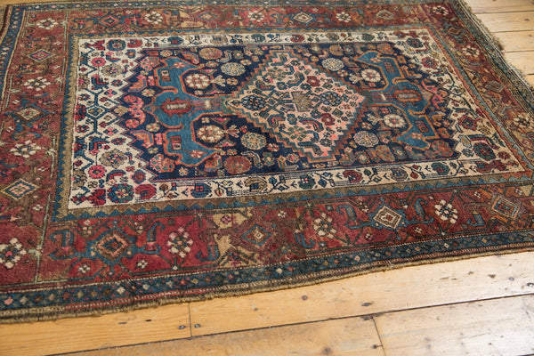 Antique Kurdish Bijar Rug / Item 5567 image 5