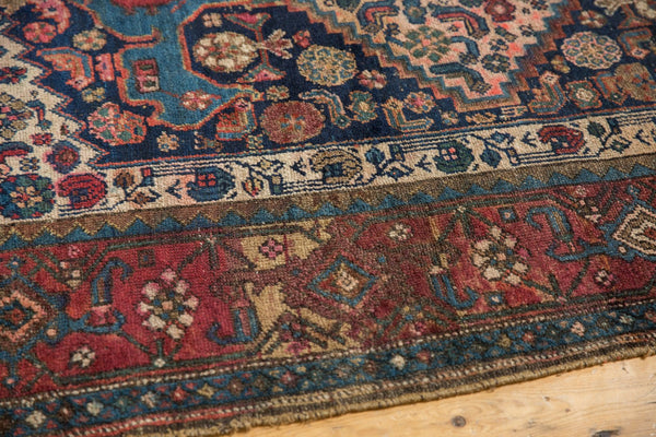 Antique Kurdish Bijar Rug / Item 5567 image 6
