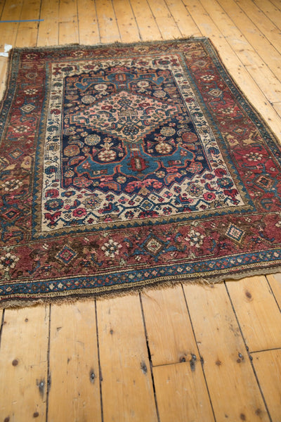 Antique Kurdish Bijar Rug / Item 5567 image 9
