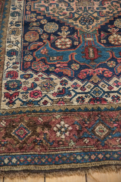 Antique Kurdish Bijar Rug / Item 5567 image 10