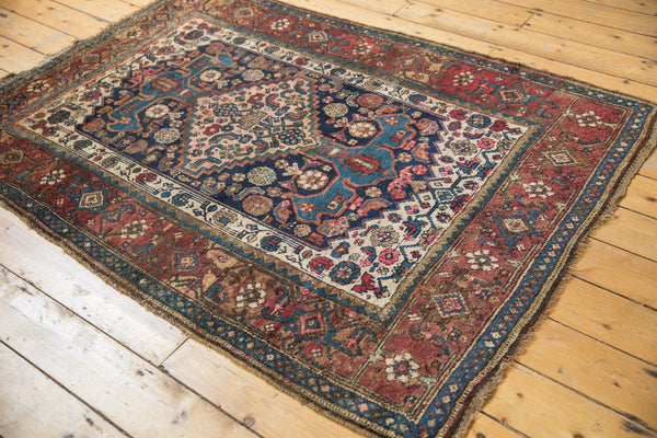 Antique Kurdish Bijar Rug / Item 5567 image 11