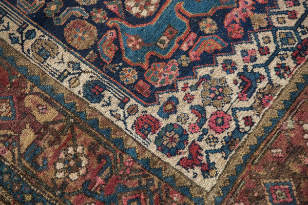 Antique Kurdish Bijar Rug / Item 5567 image 12