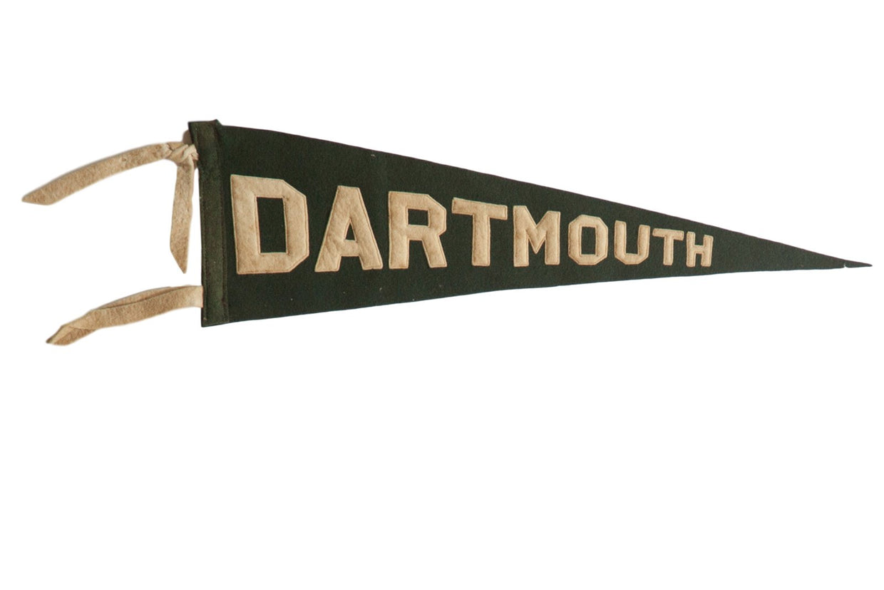 Dartmouth Felt Flag
