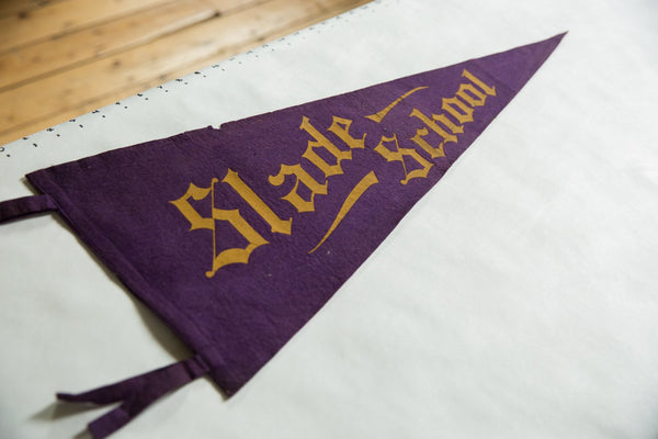 Slade School Felt Flag