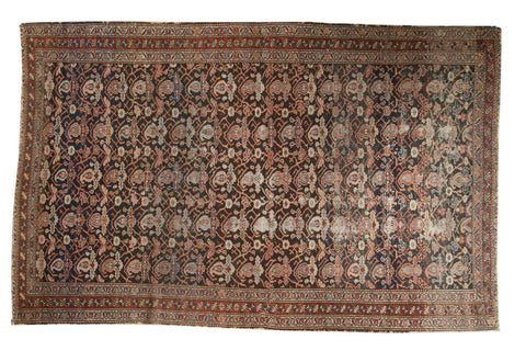 4x6.5 Antique Fine Malayer Rug // ONH Item 5923