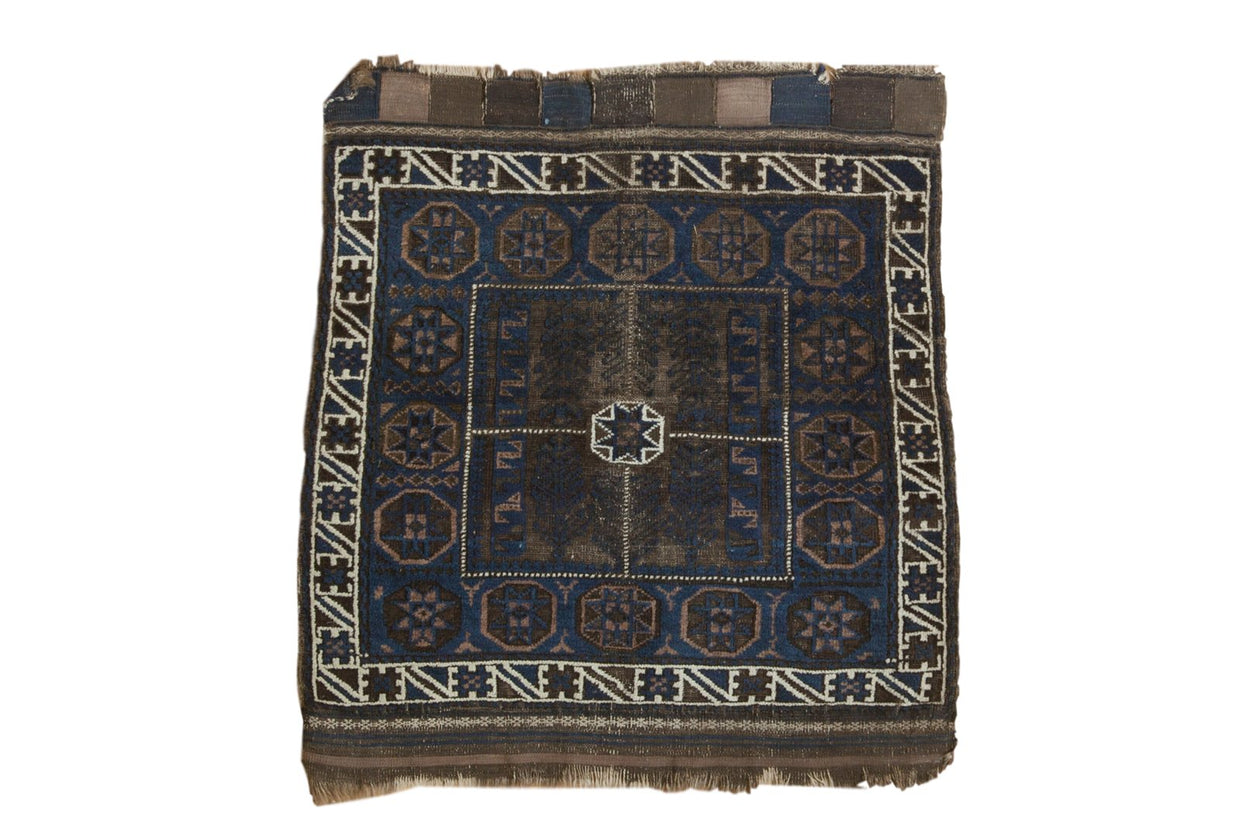 2.5x3 Antique Belouch Square Rug // ONH Item 5929