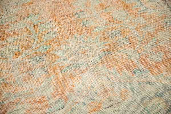 Vintage Distressed Oushak Carpet / Item 5994 image 7