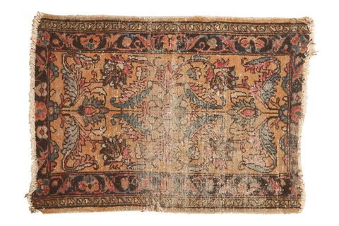 2x3 Antique Lilihan Rug Mat // ONH Item 6075