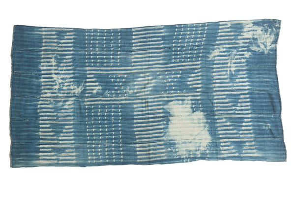 Batik Indigo African Textile Throw