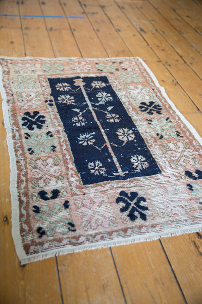Vintage Distressed Oushak Rug / Item 6139 image 3