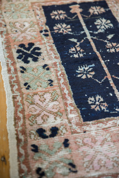 Vintage Distressed Oushak Rug / Item 6139 image 4