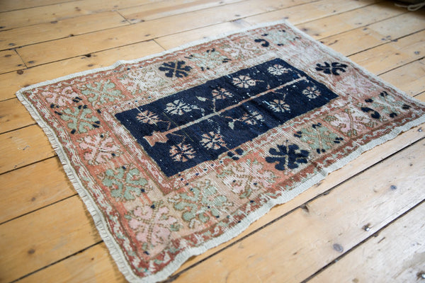 Vintage Distressed Oushak Rug / Item 6139 image 5