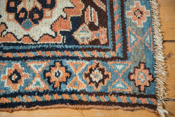 Antique Bagface Kurdish Square Rug Mat / Item 6223 image 4