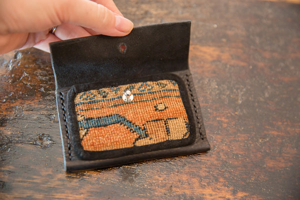 Dainty Rug Fragment Wallet