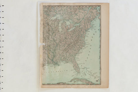 Vintage And Antique Maps Old New House Maps - Antique map of maine