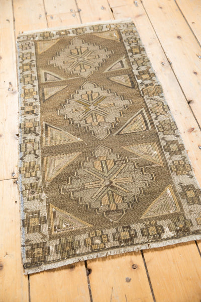Vintage Distressed Jijim Rug Mat Runner / Item 6368 image 3