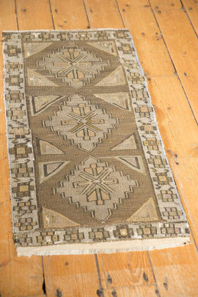 Vintage Distressed Jijim Rug Mat Runner / Item 6368 image 5