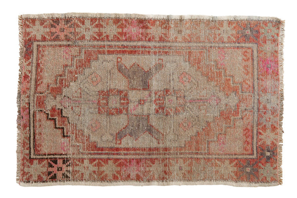 Vintage Distressed Oushak Rug / ONH item 6471