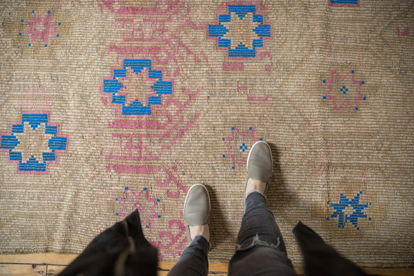 Vintage Distressed Jijim Carpet / Item 6503 image 2