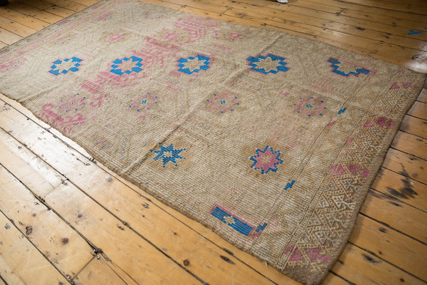 Vintage Distressed Jijim Carpet / Item 6503 image 3