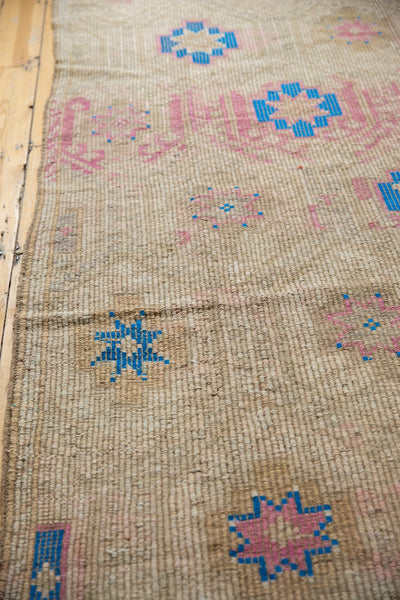 Vintage Distressed Jijim Carpet / Item 6503 image 4