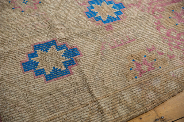 Vintage Distressed Jijim Carpet / Item 6503 image 6