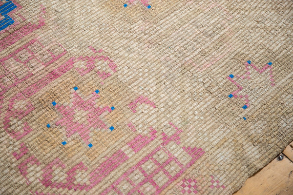 Vintage Distressed Jijim Carpet / Item 6503 image 7