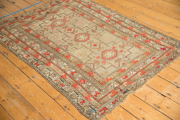 Antique Caucasian Square Rug / Item 6522 image 3