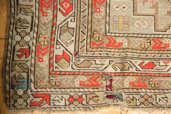 Antique Caucasian Square Rug / Item 6522 image 5